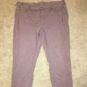 "Maurice's size 20 regular ""skinny"" pant."
